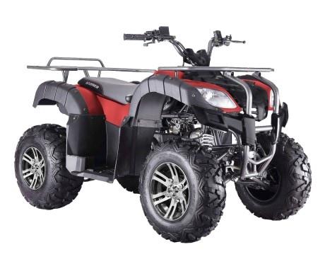 ATV Hammer 150cc Mattröd