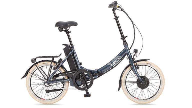 EcoRide Flexible Elcykel 2016
