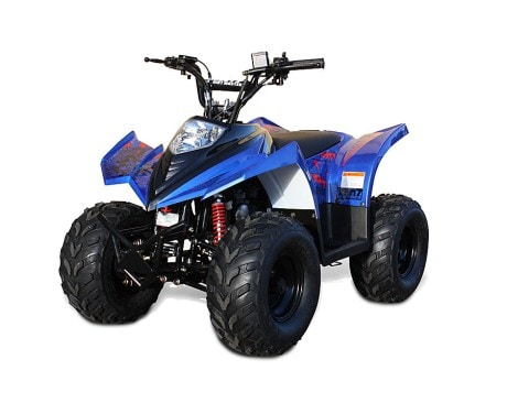 Ten7 ATV 90cc Blå Metallic